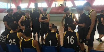 INIZIO COL BOTTO PER COACH BARILLA ALLE FINALI UNDER 16