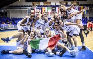 QUARTO POSTO EUROPEO PER LE RAGAZZE DELL'UNDER 20