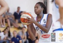 ASHLEY EGWOH CONVOCATA PER L'EUROPEO UNDER 16