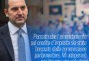 CREDITO D'IMPOSTA: PARLA IL MINISTRO SPADAFORA