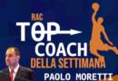 IL TOP COACH RAC E' Paolo Moretti