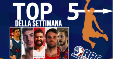 LA TOP 5 DELLA SETTIMANA