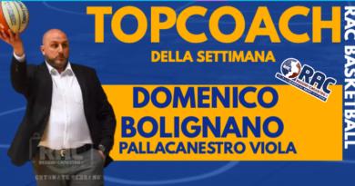 IL TOP COACH E' DOMENICO BOLIGNANO